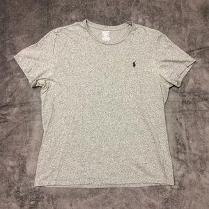 Polo Ralph Lauren Gray Short Sleeve Tshirt Large